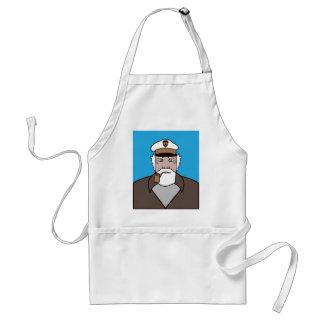 Captain color vector standard apron