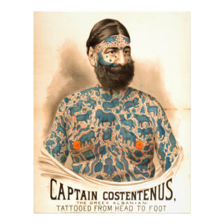 Captain Constantius Letterhead