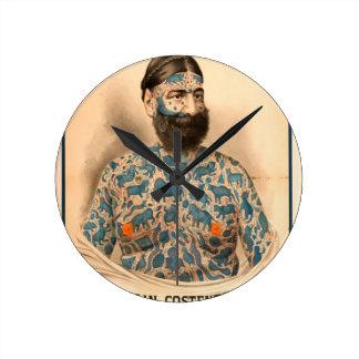 Captain Constantius Round Clock
