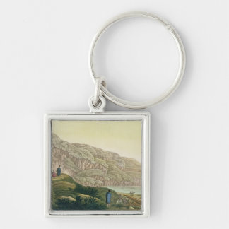 Captain Cook (1728-79) in Alaska during his voyage Keychain