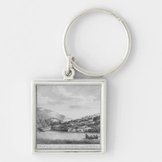 Captain Cook having been shipwrecked Key Chains