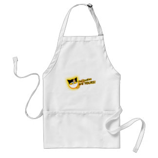 """Captain Cookie """"The Cookies are Yours!"""" Standard Apron"""