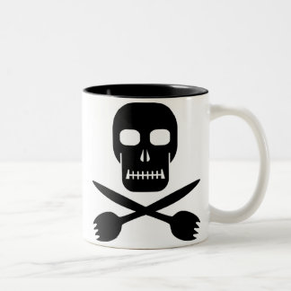 Captain Cruel's Skull & Cross-sporks Mug
