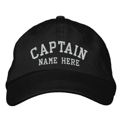 Captain - customizable cap