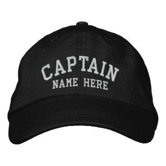 Captain - customizable embroidered baseball cap
