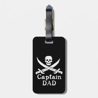 Captain Dad - Classic Luggage Tag