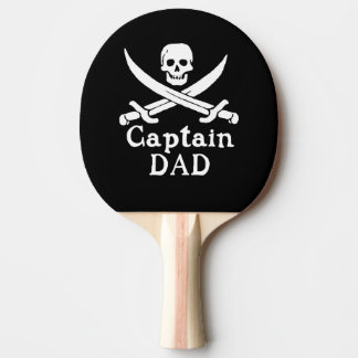 Captain Dad - Classic Ping Pong Paddle