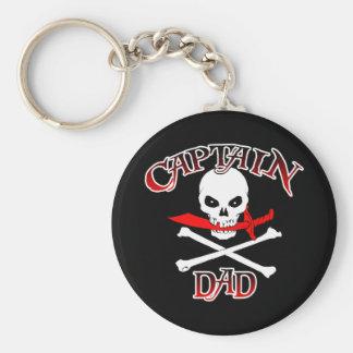 Captain Dad (Cutlass)Keychain