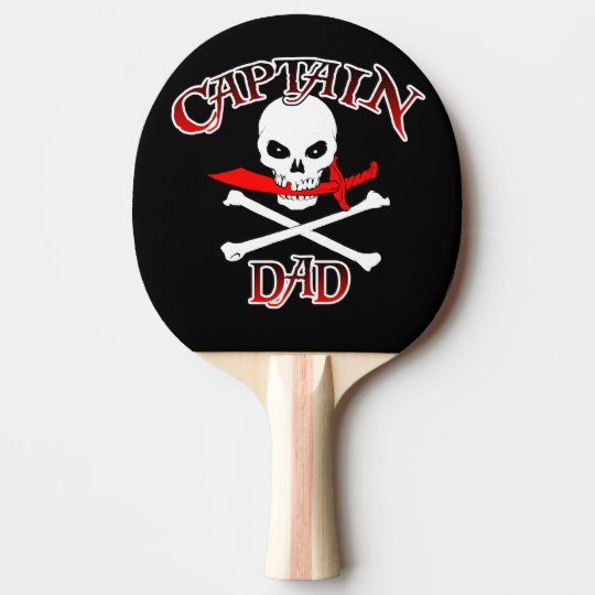 Captain Dad Ping Pong Paddle