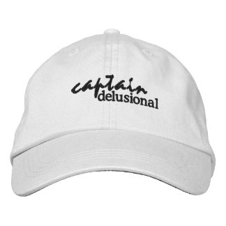 Captain Delusional Embroidered Hat
