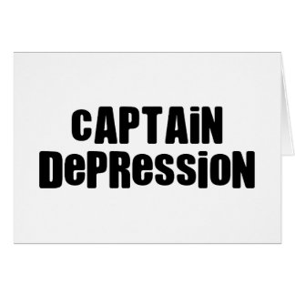 Captain Depression Card