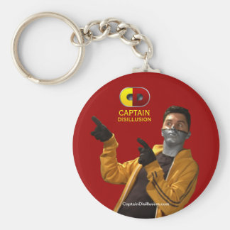 Captain Disillusion Keychain