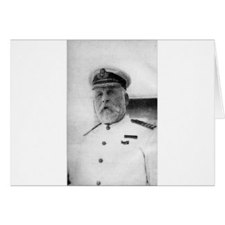 Captain EJ Smith of the Titanic Greeting Card