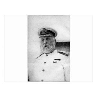 Captain EJ Smith of the Titanic Postcard