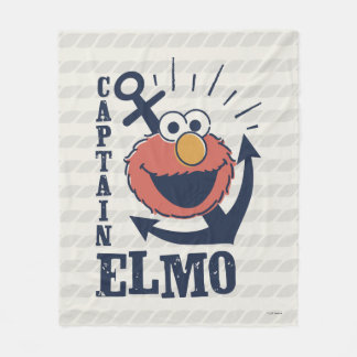 Captain Elmo Fleece Blanket