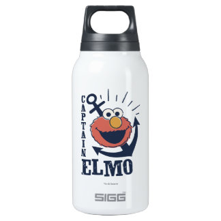 Captain Elmo Insulated Water Bottle