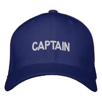 CAPTAIN EMBROIDERED BASEBALL CAP