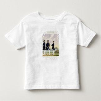 Captain, Flag Officer and Commander (Undress) plat T-shirt