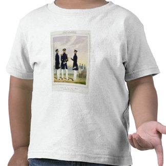 Captain, Flag Officer and Commander (Undress) plat Tshirt
