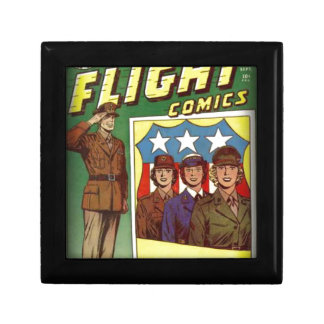 Captain Flight Vintage Golden Age Comic Book Gift Box