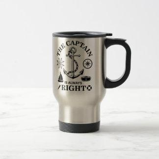 Captain Funny Travel Mug