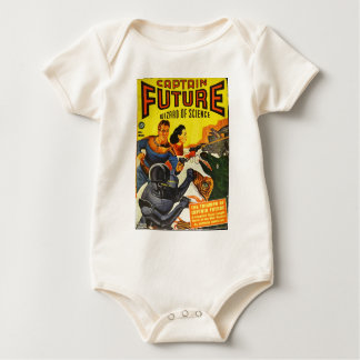 Captain Fure and the Space Dogs Baby Bodysuit