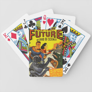 Captain Fure and the Space Dogs Bicycle Playing Cards