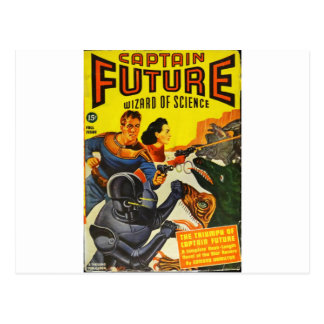 Captain Fure and the Space Dogs Postcard
