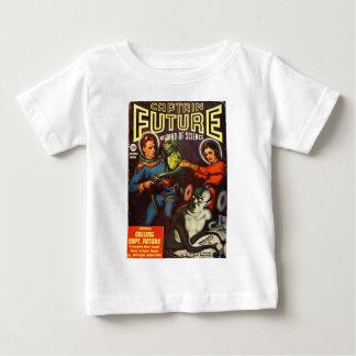 Captain Future and Solar Doom. Baby T-Shirt