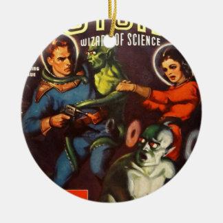 Captain Future and Solar Doom. Ceramic Ornament