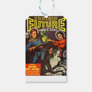 Captain Future and Solar Doom. Gift Tags