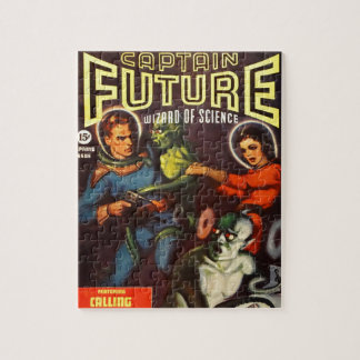 Captain Future and Solar Doom. Jigsaw Puzzle