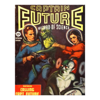 Captain Future and Solar Doom. Letterhead