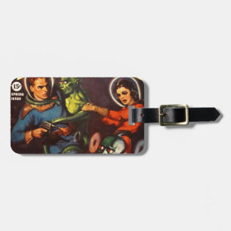 Captain Future and Solar Doom. Luggage Tag