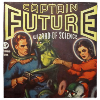 Captain Future and Solar Doom. Napkin