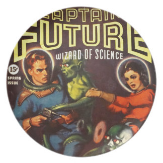 Captain Future and Solar Doom. Plate