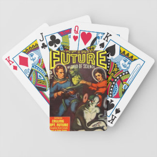 Captain Future and Solar Doom. Poker Deck