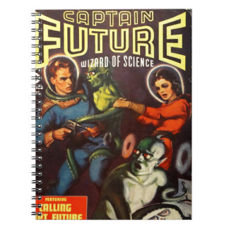 Captain Future and Solar Doom. Spiral Notebook