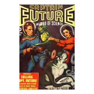 Captain Future and Solar Doom. Stationery