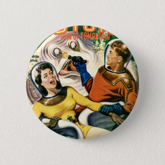 Captain Future and the Magic Moon 2 Inch Round Button