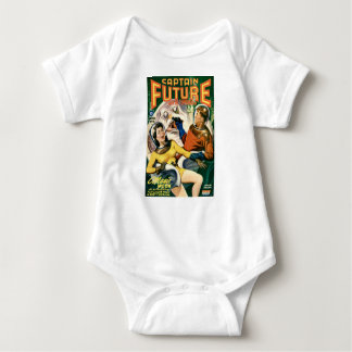 Captain Future and the Magic Moon Baby Bodysuit