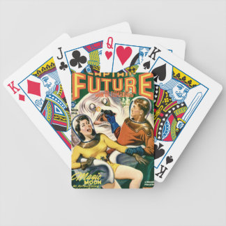 Captain Future and the Magic Moon Bicycle Playing Cards