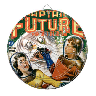 Captain Future and the Magic Moon Dart Board