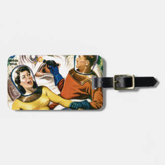 Captain Future and the Magic Moon Luggage Tag