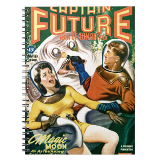 Captain Future and the Magic Moon Notebook