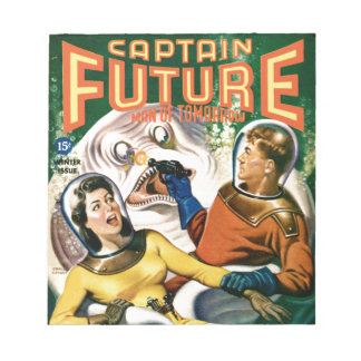 Captain Future and the Magic Moon Notepad