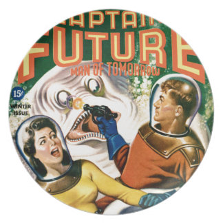 Captain Future and the Magic Moon Plate