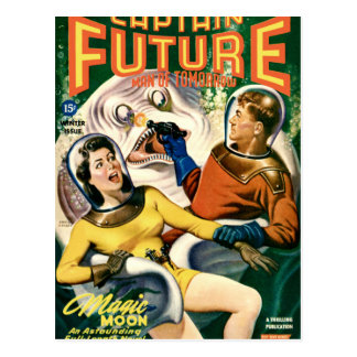 Captain Future and the Magic Moon Postcard