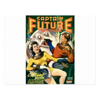 Captain Future and the Magic Moon Postcard