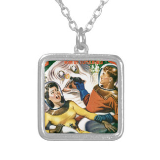 Captain Future and the Magic Moon Silver Plated Necklace